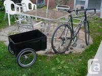 I am offering my Carry Freedom Y-Frame bike trailer, it