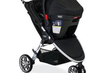 -like new, excellent condition - includes stroller,
