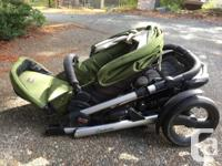 Britax B-Ready Double Stroller In excellent used