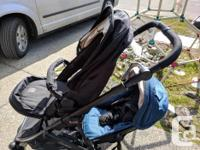 Great condition double stroller by Britax. Second seat
