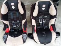 Selling used Britax Frontier and Britax Frontier 85 car