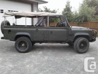 Make Land Rover Model Defender 110 Year 1990 Colour