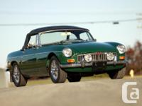 Make MG Model MGB Year 1969 Colour GREEN kms 79000