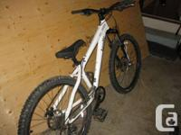 i have fantastic disorder white brodie brat bike with