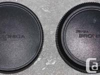 Bronica ETR ETRS and ETRSi SLR body front cap cover