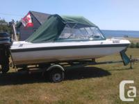 Selling for a friend , about 5.5 x 15.5 ' , 50 hp