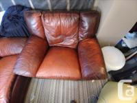 Couch Sold - Chairs $100 for both. Two matching