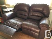 Will sell $300 for each recliner or both for $500.