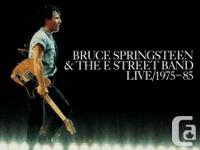 LIVE ALBUM BY BRUCE SPRINGSTEEN &  THE E STREET BAND