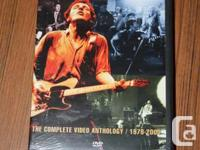 This two-disc set features all of Bruce Springsteen's