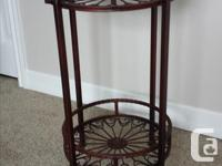 Larger Plant stand is $20 Smaller Plant stand is $10