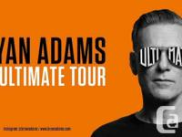 I have 2 hard copies tickets for Bryan Adams sold out