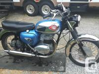 Year 1964 kms 2500 1964 - 650 BSA Thunderbolt Rocket.