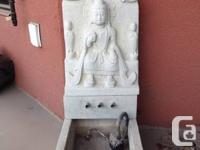 Small to average dimension Buddha Fountain. Could