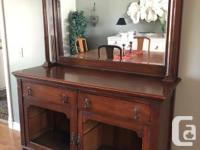 Buffet with detachable mirror. Requires work, mainly