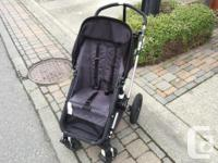 We LOVED this stroller. It rides smooth, built tough,