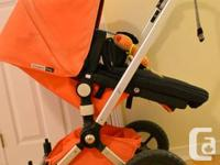 We are selling our beloved bugaboo frog stroller
