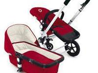 bugaboo stroller red colour  comes from free smoke and