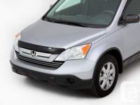 2007-2009 Honda CRV Tinted Bug Deflector Still in