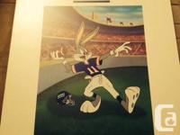"1994 Warner Bros. NFL Bugs Bunny New York Giants ""The"