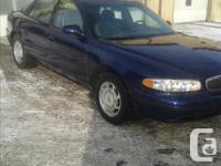 Make. Buick. Model. Century. Year. 2003. Colour. Blue.