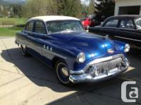 For sale two wonderful automobiles. 1951 Buick Deluxe