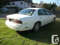 Make Buick Year 2001 Colour white Trans Automatic kms