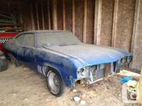 Make. Buick. Year. 1969. Colour. Blue. 1969 Buick