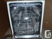24 in Bosch Dishwasher, built-in model. Super quiet 44