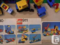 Here is your chance to add a lot of vintage legos to