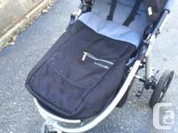 Awesome stroller!!! Urban and hiking stroller. All