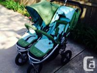 Good condition Bumbleride Indie Twin Stroller, bought