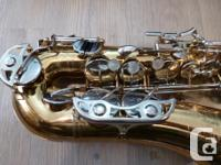 I have for sale a Bundy II by Selmer student alto sax
