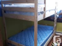 I have a bunk bed that it like new that were purchased