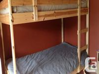 $275 Extremely Strong. Wood, completed, Beautiful bunk