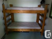 2 bunk beds, thats 4 beds, built for the motion picture