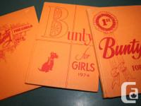 These are 3 more mature, orange-covered.  BUNTY FOR