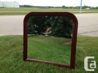 Cabinet or Wall surface Mount Mirror - Solid Wood Frame