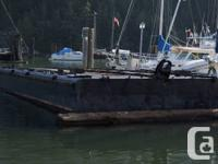 BEST CASH OFFER! The barge is 24'x40' approx, 60 heaps