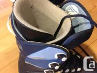 Dimension 9 Mens, grey and blue. Exceptional condition.