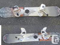 BURTON CRUZER SNOWBOARD 0155 Division. Why buy new and