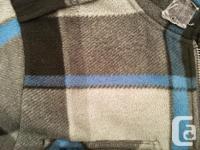 Men's Burton fleece. Excellent condition, non smoker.