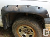 Have a full set of Bushwacker fender flairs off a 2001