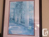 Painting of a famous location (Rose Garden) at the