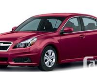 Budds� Subaru offers Subaru Legacy, the car that�s