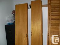 """2 set of by fold doors 18"""" wide per or 36"""" wide x 79"""""""