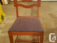 1950s Dining Room Table 4 Chairs China