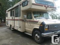 C - Class MH 1985 Vanguard/Ford 350 -26 ft needs to be
