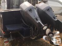 2004 26? C-KING Twin 150hp Yamaha 4-stroke Outboards