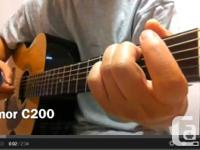 * Mizmor C200 Acoustic Guitar.  * Problem: Brand-new